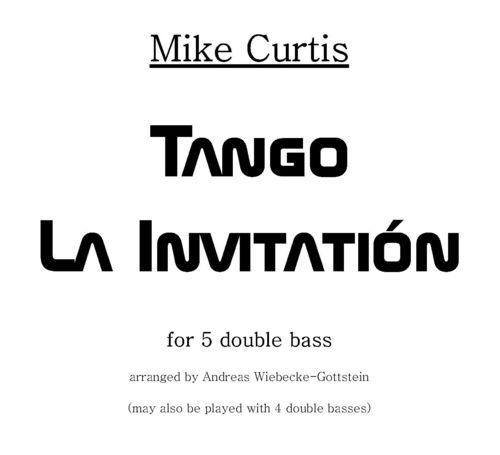 "Mike Curtis: ""Tango La Invitatión"" pdf-file"