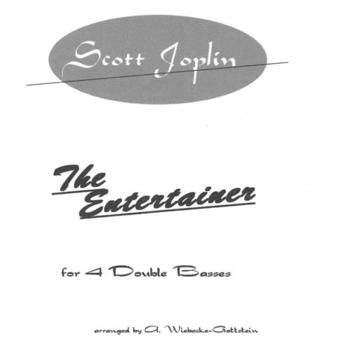 "Scott Joplin: ""The Entertainer"""