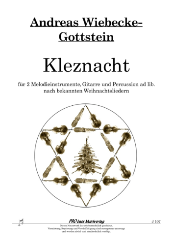 "A. Wiebecke-Gottstein: ""Kleznacht"" for 2 Instr., Guit. and Perc. ad. lib. pdf"